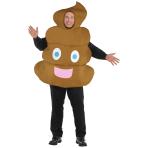 Pooper Unisex Costume - Plus Size - 1 PC