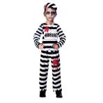 Zombie Convict Costume - Age 5-6 Years - 1 PC