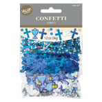 1st Communion Blue Confetti 34g - 6 PC