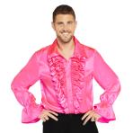 Satin Pink Shirt - Small Size - 1 PC
