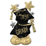 Congrats To You Grad Airloonz Foil Balloons P70 - 3 PC
