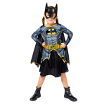 Batgirl Sustainable Costume - Age 4-6 Years - 1 PC