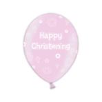 Christening Pretty Pink Latex Balloons - 1 PKG/25