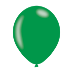 "Metallic Green Latex Balloons 11""/27.5cm - 10PKG/10"