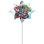 """Avengers Assemble Mini Shape Foil Balloons 10""""/25cm w x 11""""/27cm h A30 - 5 PC"""