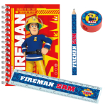 Fireman Sam Stationery Packs - 5 PKG/20