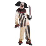Halloween Circus Freakshow Clown Plus Size - 3 PC