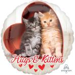 Avanti Hugs & Kittens Standard HX Foil Balloons S40 - 5 PC