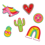 Valentine's Peel and Stick Patches - 12 PKG/6