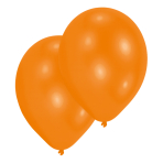 Metallic Orange Latex Balloons - 27.5cm - 6 PKG/25