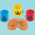Ocean Buddies Plastic Springs - 48 PKG