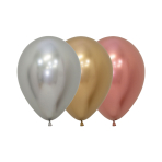 "Reflex Classic Assortment Latex Balloons 5""/13cm - 50 PC"