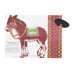 Pin The Tail On The Donkey Party Games 43.1cm x 43.6cm - 24 PKG