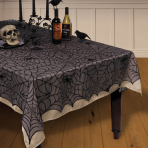 Lace Spider Web Tablecovers 1.52m x 2.13m - 6 PC