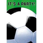 Championship Soccer Folded invitations - 6 PKG/8