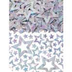 Star Shimmer Silver Prismatic Confetti 14g - 12 PC