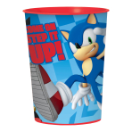 Sonic the Hedgehog Plastic Favour Cups 455ml - 12 PC