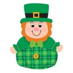 Roly Poly Leprechauns 15.2cm - 12 PC