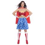 Wonder Woman Classic Costume - Size 8-10 - 1 PC