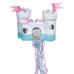 Castle Pull Pinatas - 4 PC