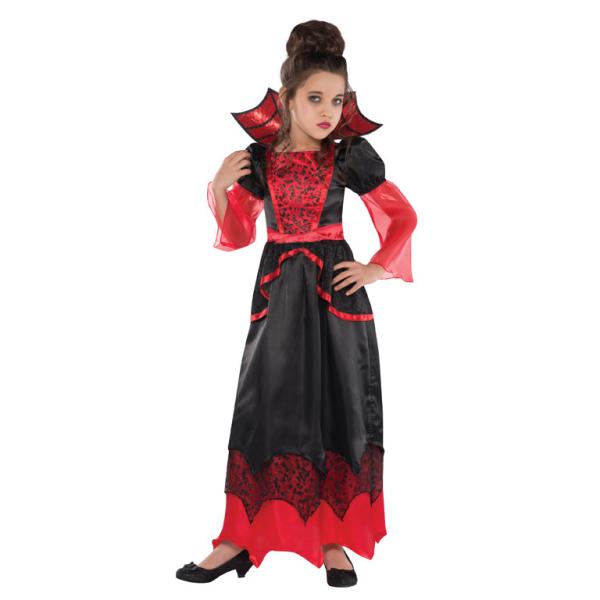Костюм для девочки 8 лет вампира