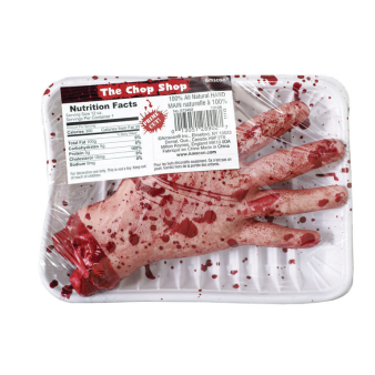 Chop Shop Meat Market Hands - 9 PC