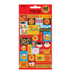 Chinese New Year stickers - 6 PKG/2