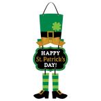 St. Patrick's Day MDF Signs 48cm x 21cm - 12 PKG