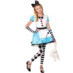 Alice Costume - Age 8-10 Years - 1 PC