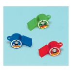 Thomas & Friends Whistles - 6 PKG/12