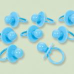 Blue Pacifier Charms 3.5cm x 6cm - 12 PKG/8