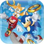 Sonic the Hedgehog Paper Plates 23cm - 6 PKG/8