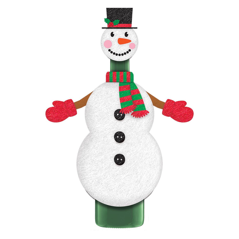 Vajilla De Fiesta Navidad Muñeco de nieve y Snowdog Papel Platos Paquete de 8