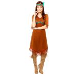 Native American Costume - Size 12-14 - 1 PC