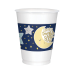 Twinkle Little Star Plastic Cups 473ml - 6 PKG/25