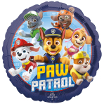 Paw Patrol Standard Foil Balloons S60 - 5 PC