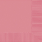 Pretty Pink Luncheon Napkins 33cm 3ply - 12 PKG/20