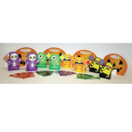 Boo Crew Monsters Candy Hunt Games - 6 PC
