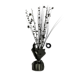 Black Spray Centrepiece Balloon Weights 30cm/150g - 6 PC