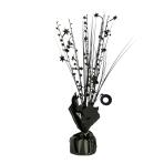 Black Spray Centrepiece Balloon Weights 30cm/150g - 6 PC