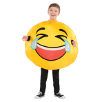 Inflatable Tears of Laughter Costume - Age 8-10 Years - 1 PC