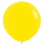 "Fashion Colour Solid Yellow 020 Latex Balloons 36""/91.5cm - 2 PC"