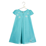 Elsa Velvet Smock Dress - Age 7-8 Years - 1 PC