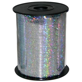 Holographic Silver Ribbon Spool 230m x 5mm - 1 PC