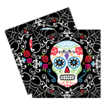 Day of the Dead Luncheon Napkins 33cm - 12 PKG/36