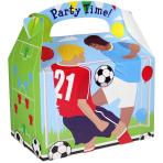 Favours Party Box Football - 75 PKG