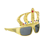 Fun Shades King Gold Tinted - 6 PKG