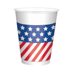 4th July Plastic Cups 473ml - 6 PKG/25