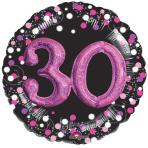 Pink Celebration 30 Foil Multi-Balloons P75 - 5 PC