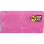 Bright Pink luncheon Napkins 33cm - 6 PKG/125
